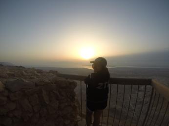 top of Masada, Israel