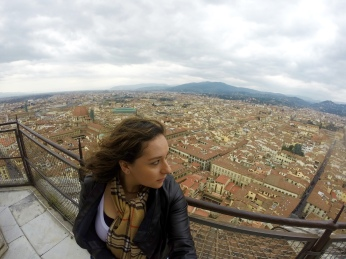 top of Duomo, Florence, Italy