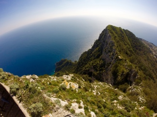 top of Mt. Solaro, Capri, Italy